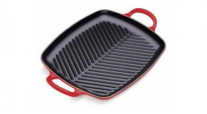 LE CREUSET GRILL 30CM KERSENROOD